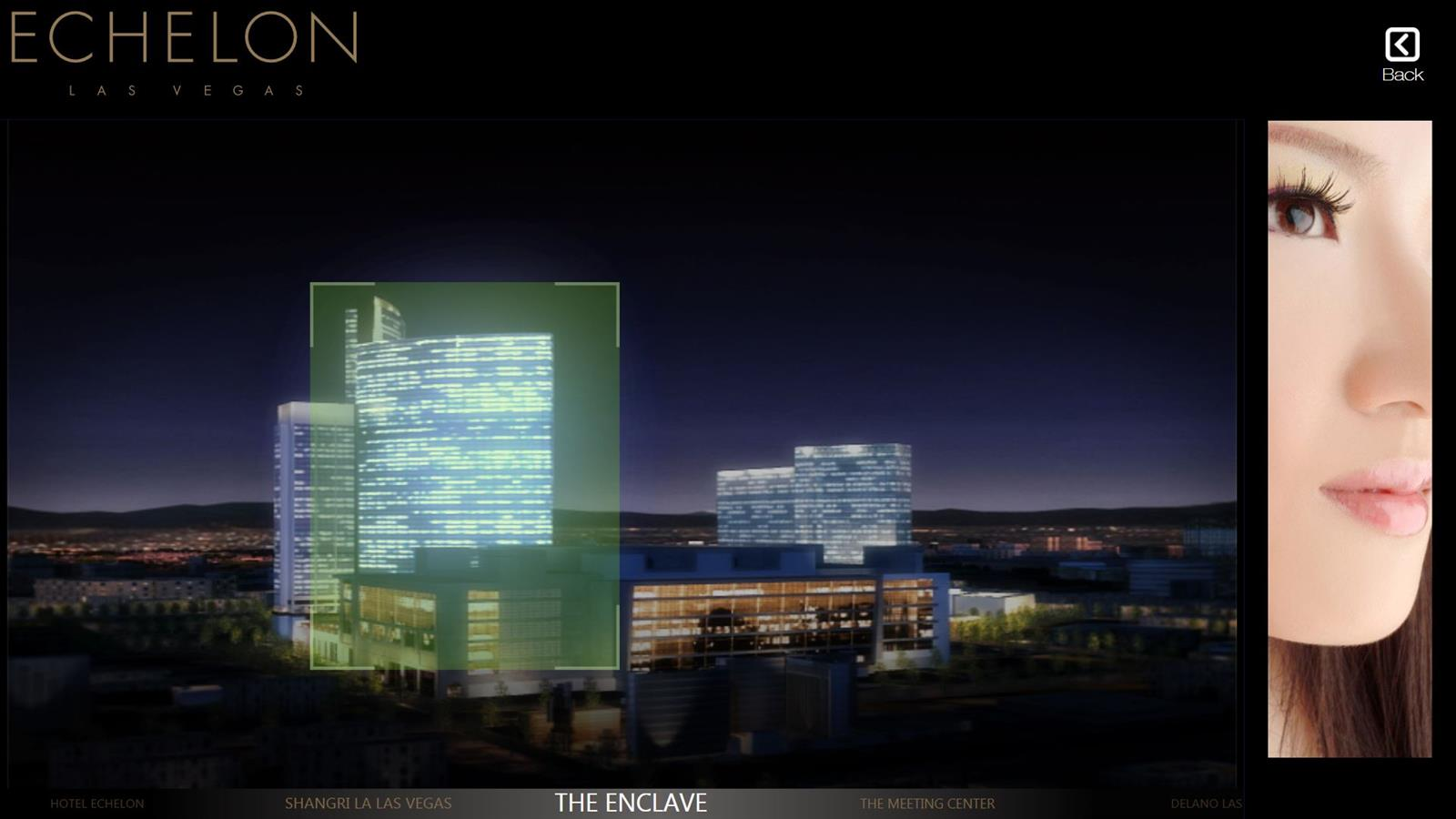 Hotel Project Presentation interactive screen