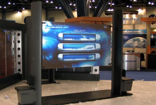NASA Interactive presentation screen