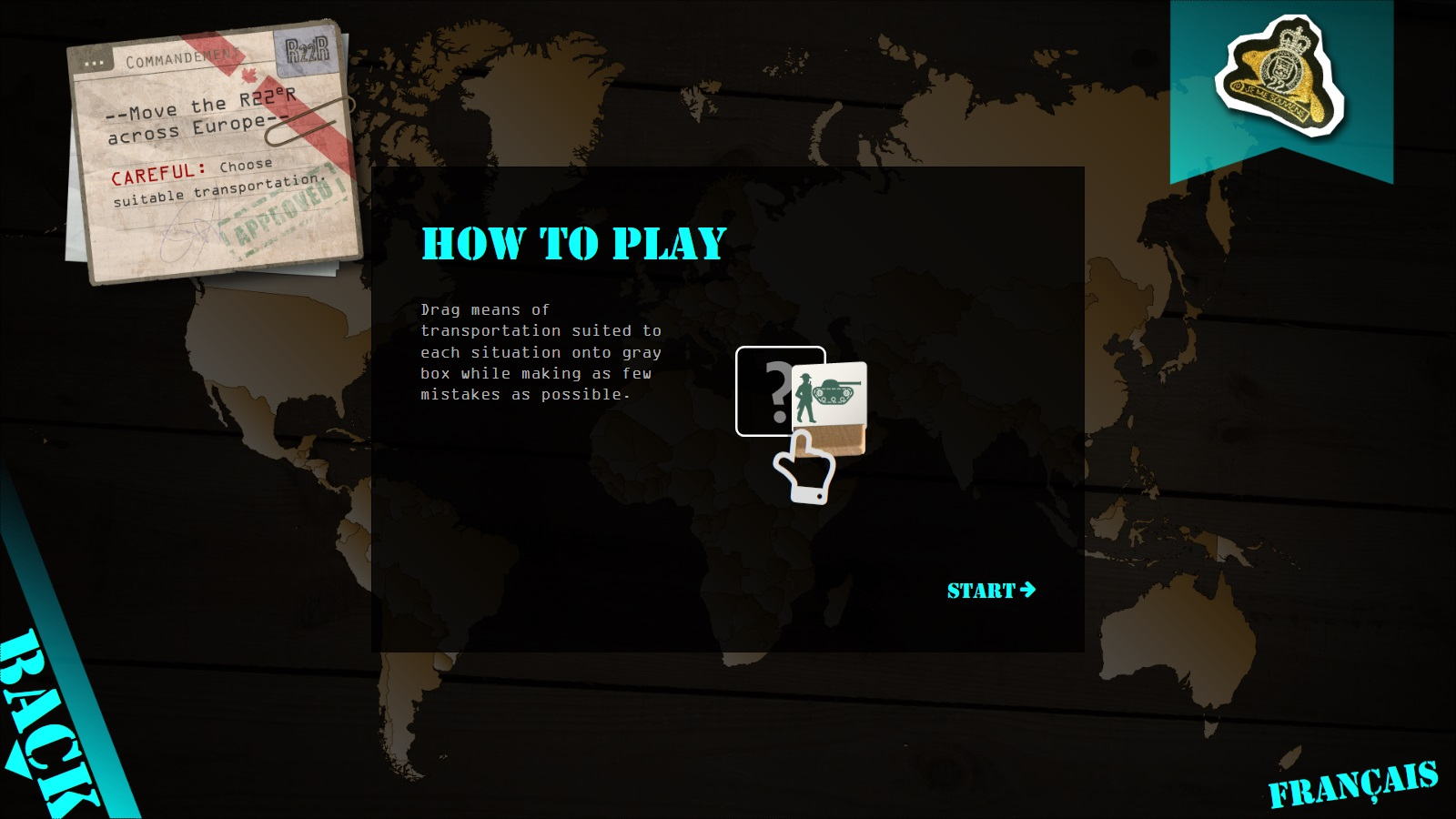 Museum interactive game