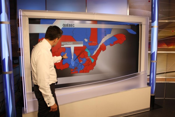 ELECTION LIVE RESULTS ON INTERACTIVE MAP