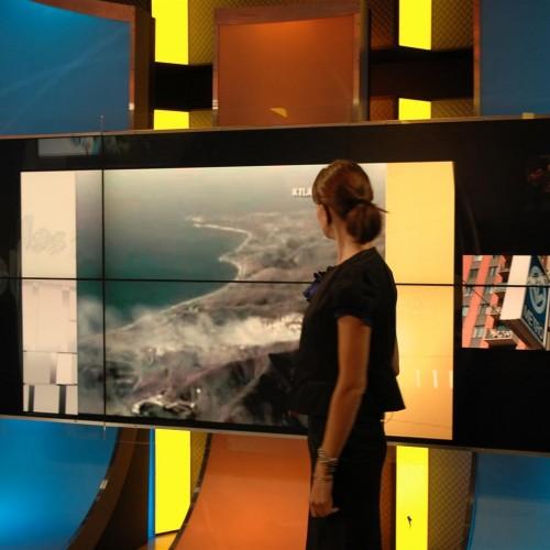TV Show Interactive presenter screen