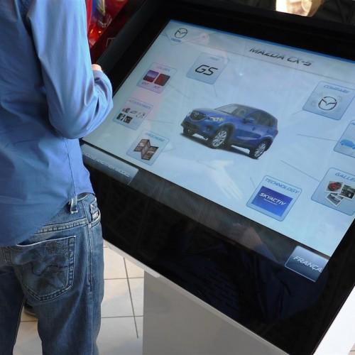Car dealership interactive screen
